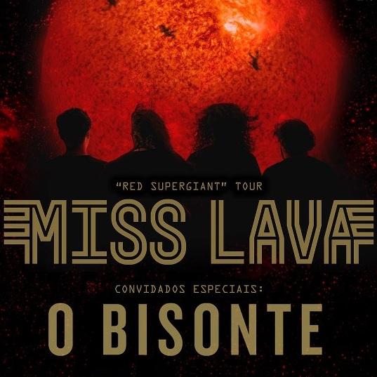 O Bisonte Banda Miss Lava levou o Biso...