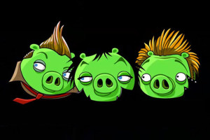 Bad Piggies, uma homenagem aos Green Day