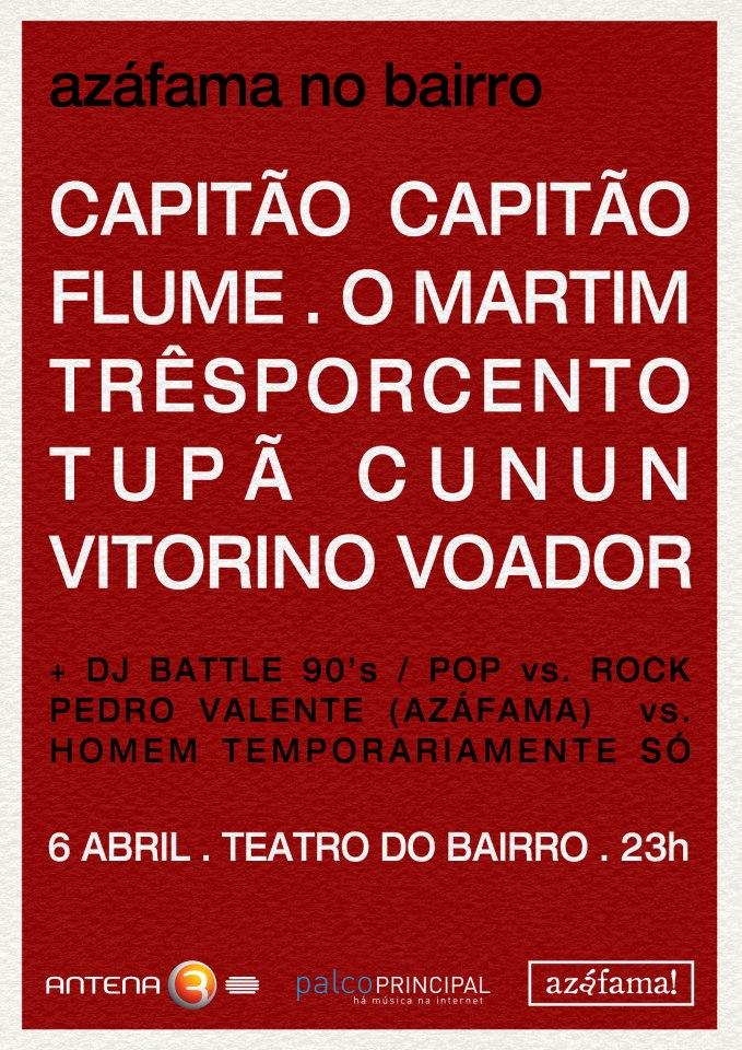 cartaz azafama