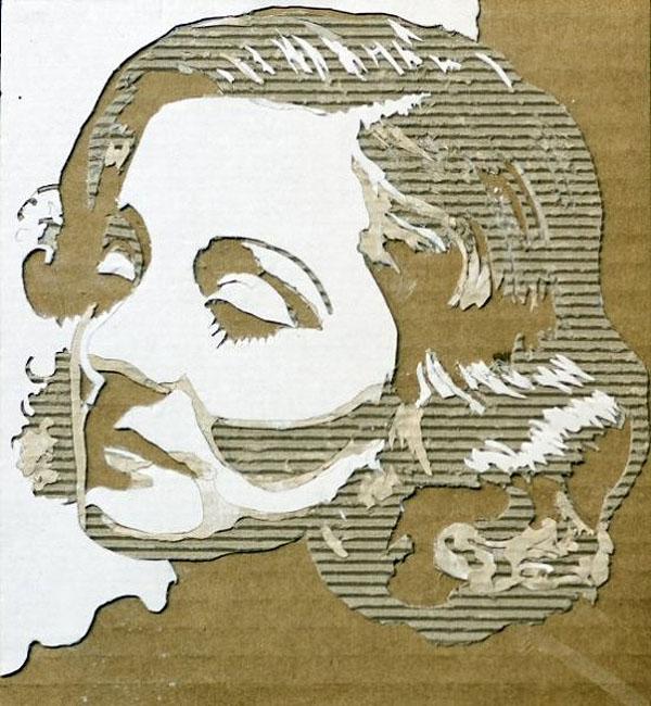 Giles-Oldershaw-cardboard-portraits-1