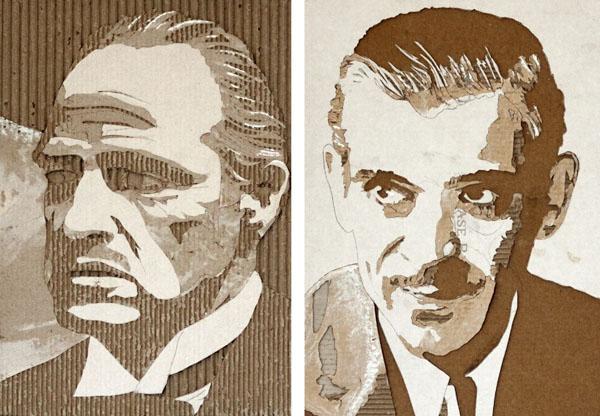 Giles-Oldershaw-cardboard-portraits-6