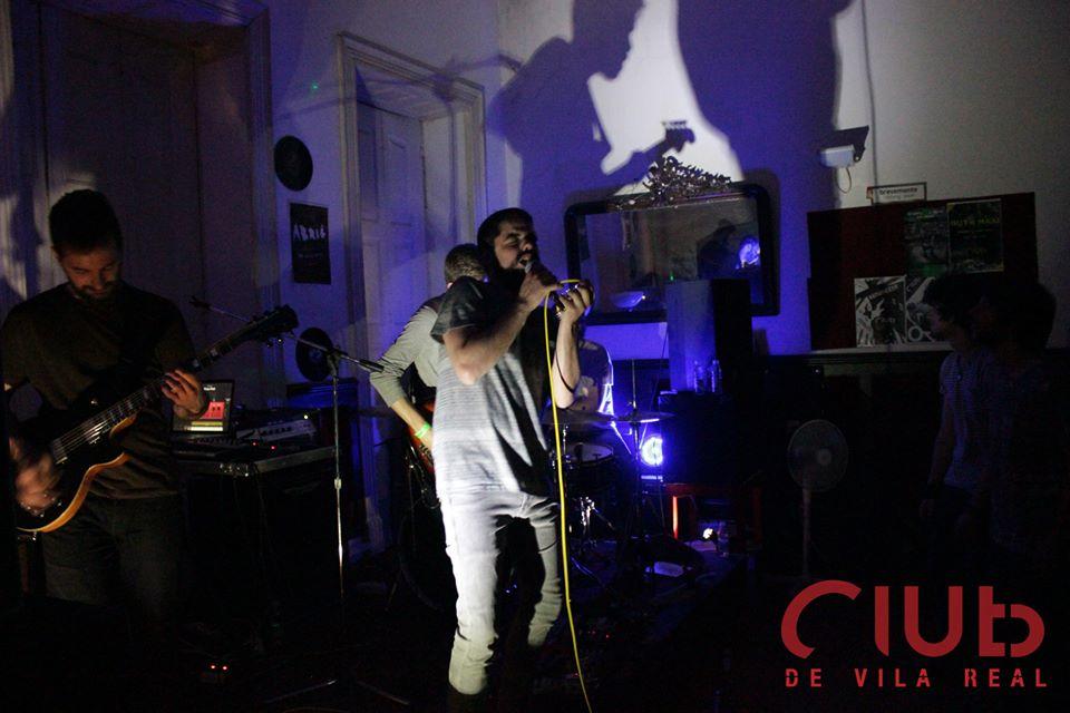 O Bisonte + O Abominável em concerto no Club de Vila Real