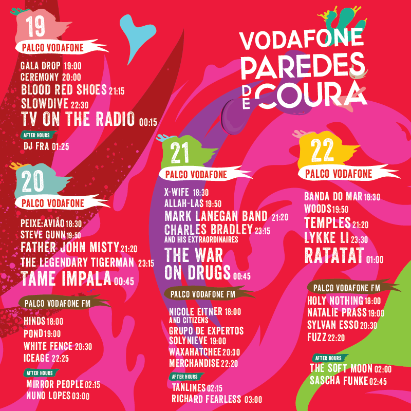 Vodafone paredes de coura consulta os hor rios espalha for Paredes de coura festival