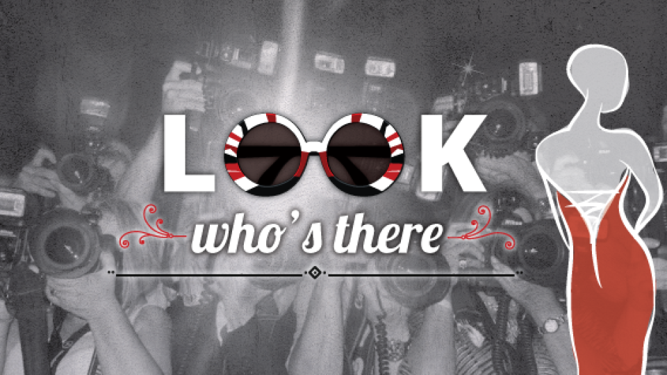 Look who's there #4: Os famosos querem é festa